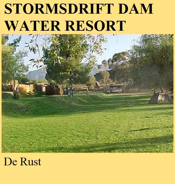 Stompdrift Dam Water Resort - De Rust