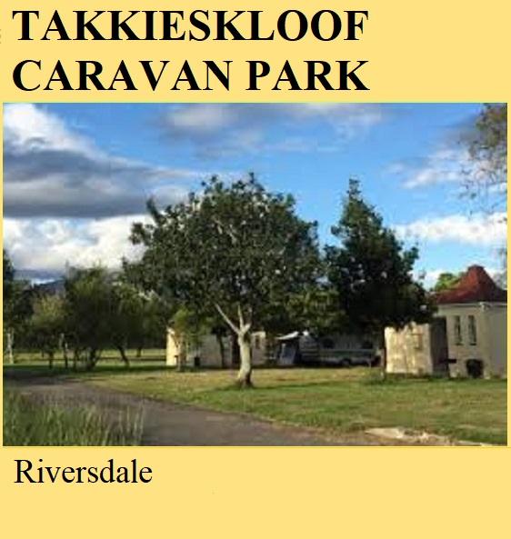 Takkieskloof Caravan Park - Riversdale