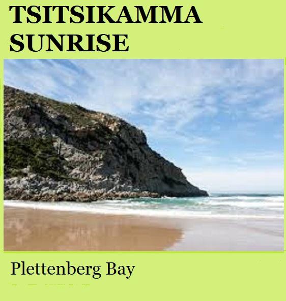 Tsitsikamma Sunrise - Plettenberg Bay