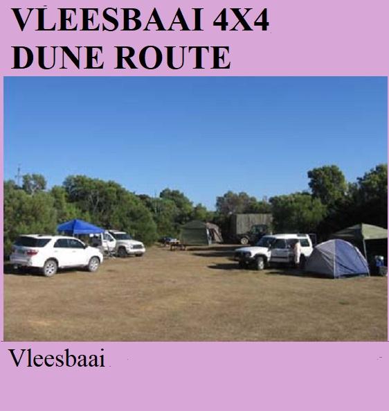 Vleesbaai 4x4 Dune Route - Vleesbaai