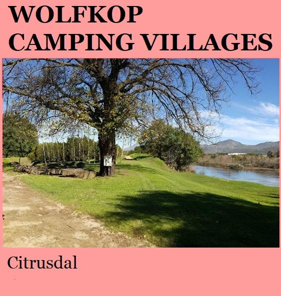 Wolfkop Camping Villages - Citrusdal