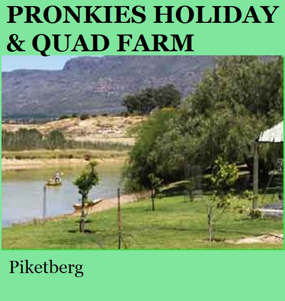 Pronkies Holiday and Quad Farm - Piketberg