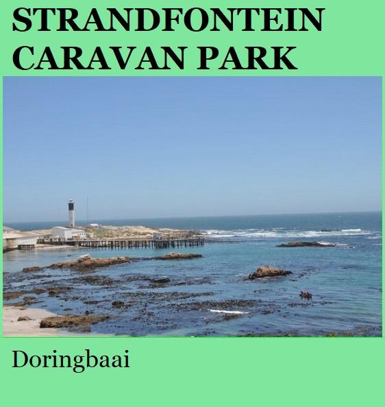 Strandfontein Caravan Park - Doringbaai