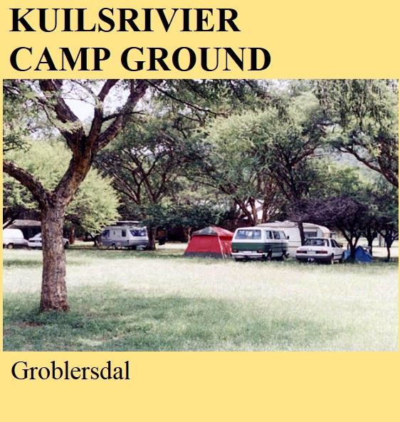 Kuilsrivier Camp Ground - Groblersdal
