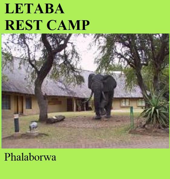 Letaba Rest Camp - Phalaborwa