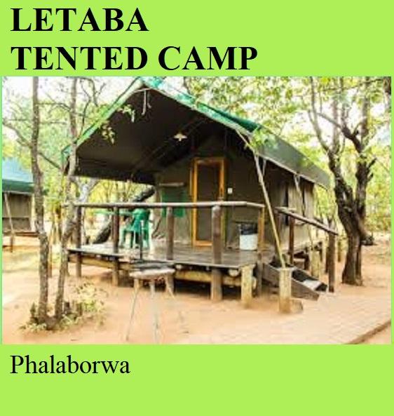 Letaba Tented Camp - Phalaborwa