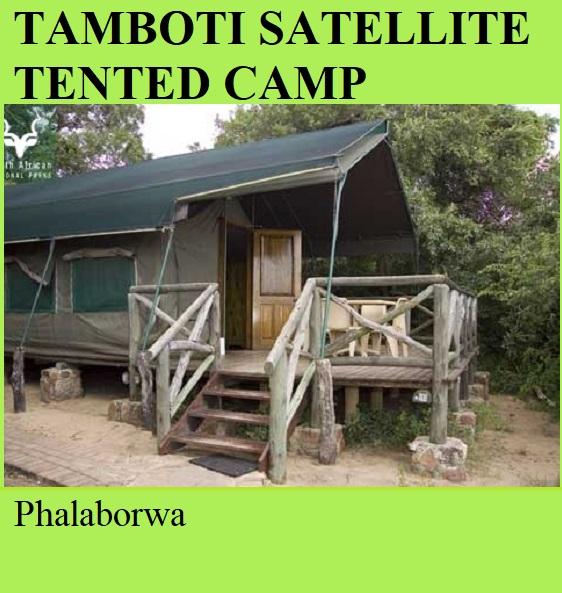 Tamboti Satellite Tented Camp - Phalaborwa