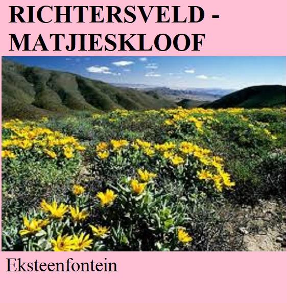 Richtersveld Matjieskloof - Ekseenfontein