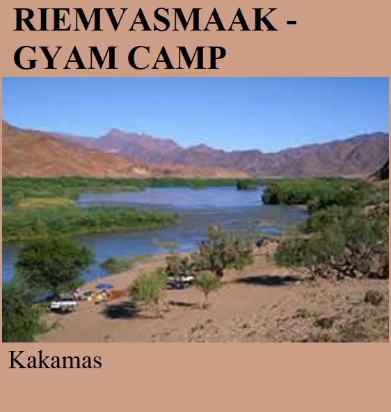 Riemvasmaak Gyam Camp - Kakamas