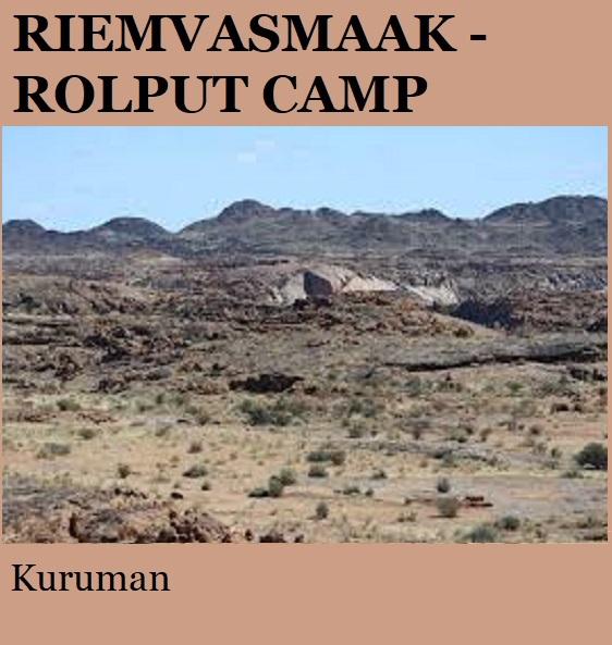Riemvasmaak Rolput Camp - Kuruman