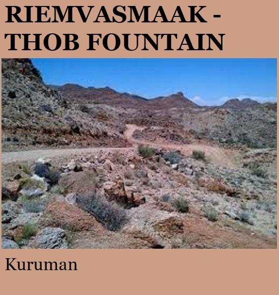Riemvasmaak Thob Fountain Camp - Kuruman