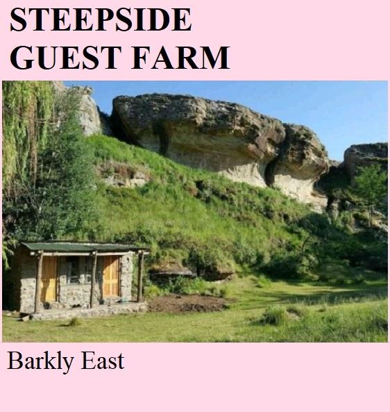 Steepside Guest Farm - Barkly East