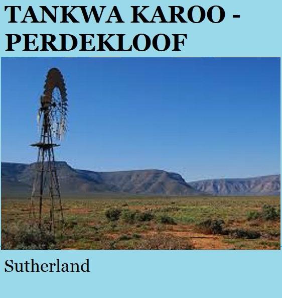 Tankwa Karoo Perdekloof - Sutherland