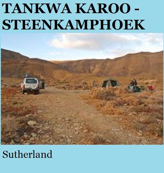 Tankwa Karoo Steenkamphoek - Sutherland