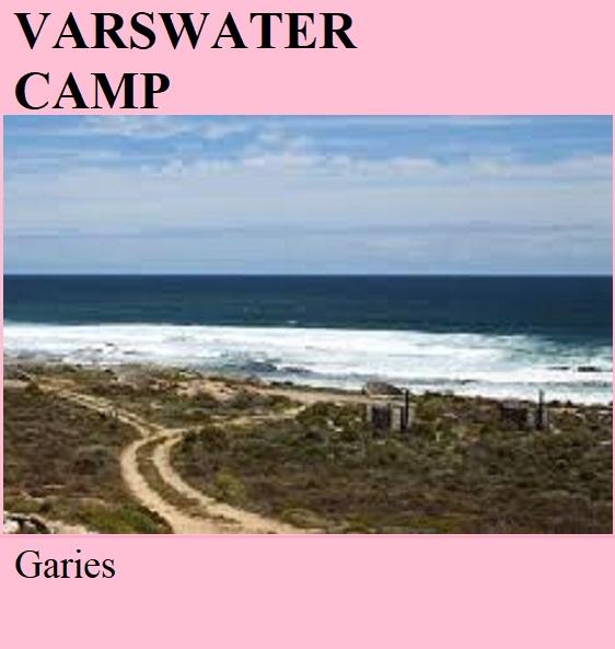 Varswater Camp - Garies