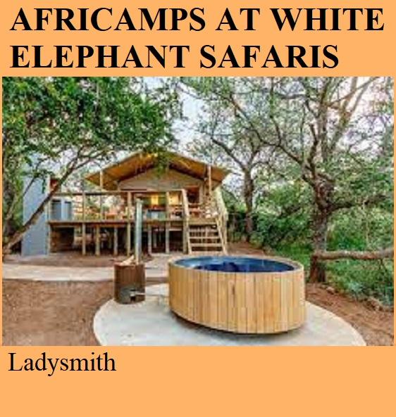 Africamps at White Elephant Safaris - Ladysmith