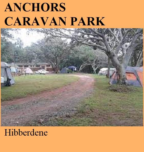 Anchors Caravan Park - Hibberdene