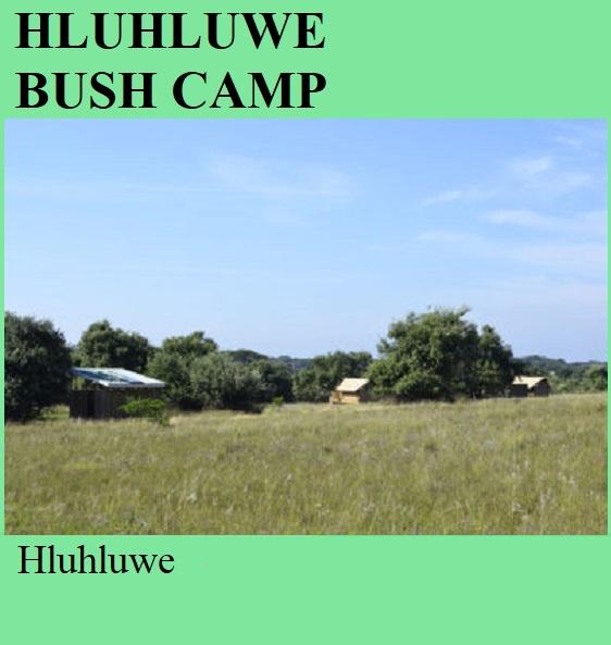 Hluhluwe Bush Camp - Hluhluwe