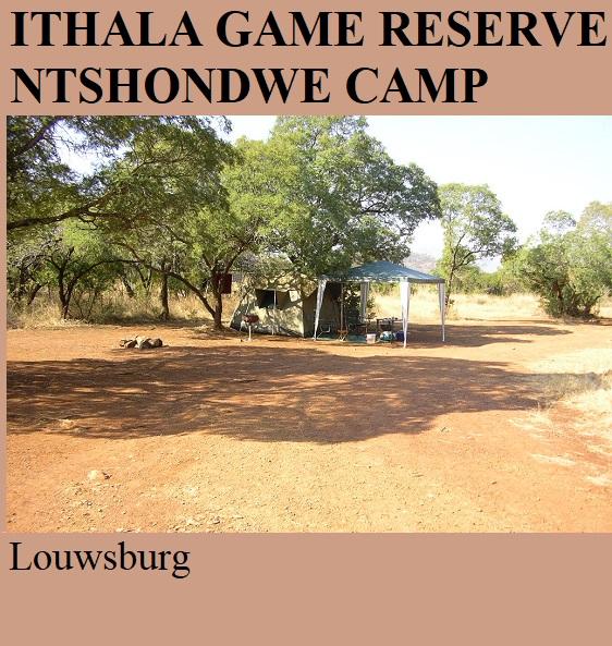 Ithala Game Reserve Ntshondwe Camp - Louwsburg