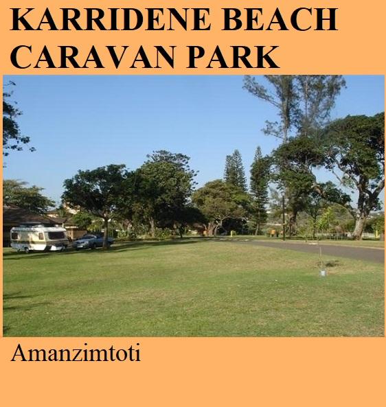 Karridene Beach Caravan Park - Amanzimtoti