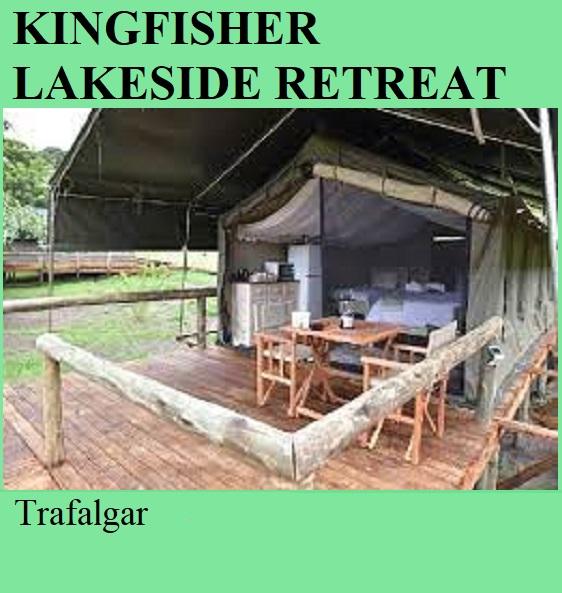 Kingfisher Lakeside Retreat - Trafalgar