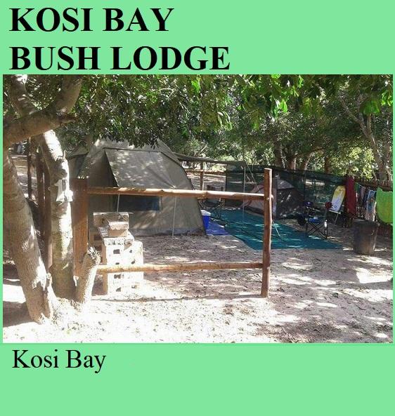 Kosi Bay Bush Lodge - Kosi Bay
