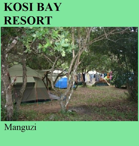 Kosi Bay Resort - Manguzi