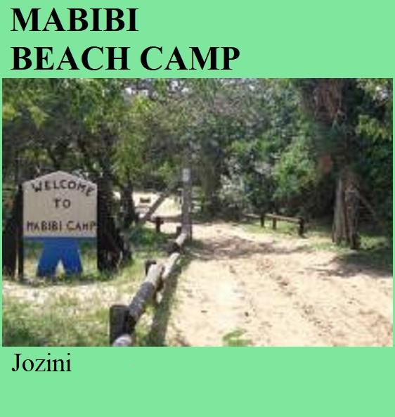 Mabibi Beach Camp - Jozini