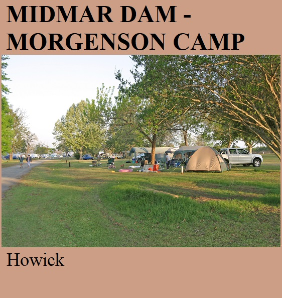 Midmar Dam Morgenson Camp - Howick