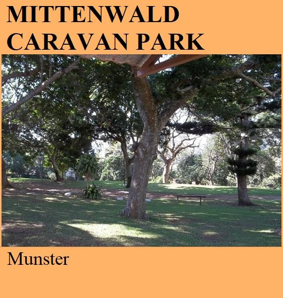 Mittenwald Caravan Park - Munster