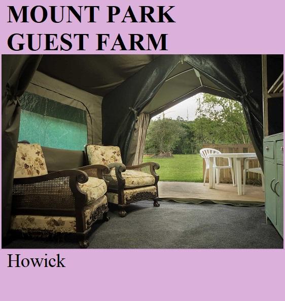 Mount Park Guest Farm - Howick