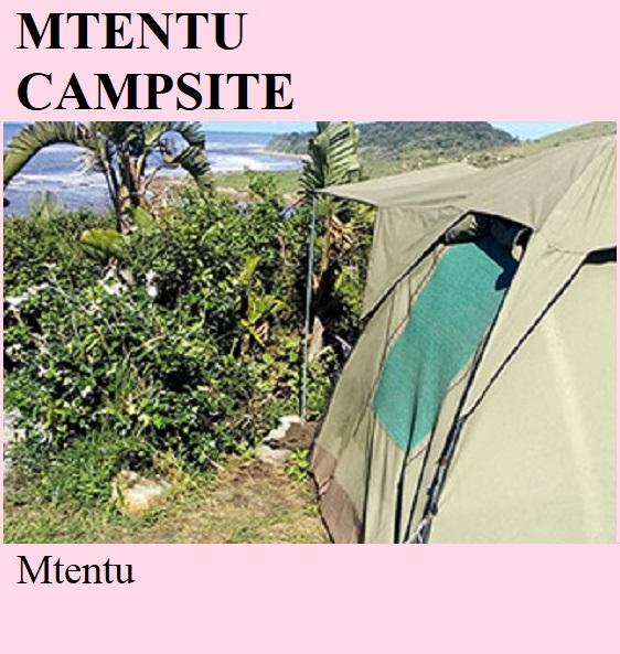 Mtentu Campsite - Mtentu