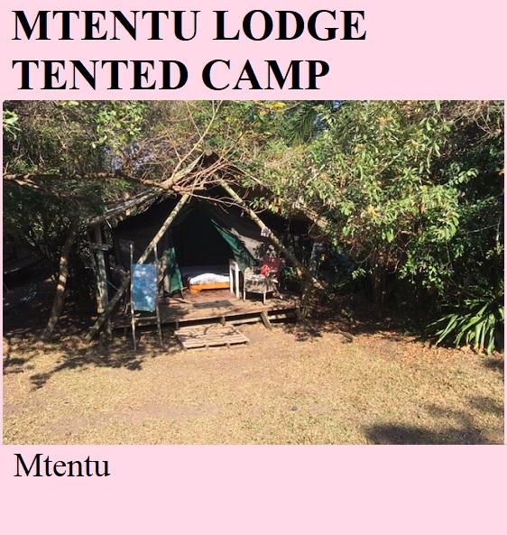 Mtentu Lodge Tented Camp - Mtentu