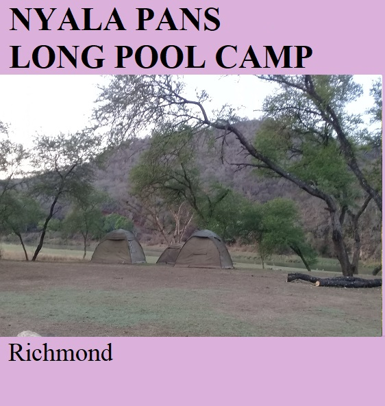 Nyala Pans Long Pool Camp - Richmond
