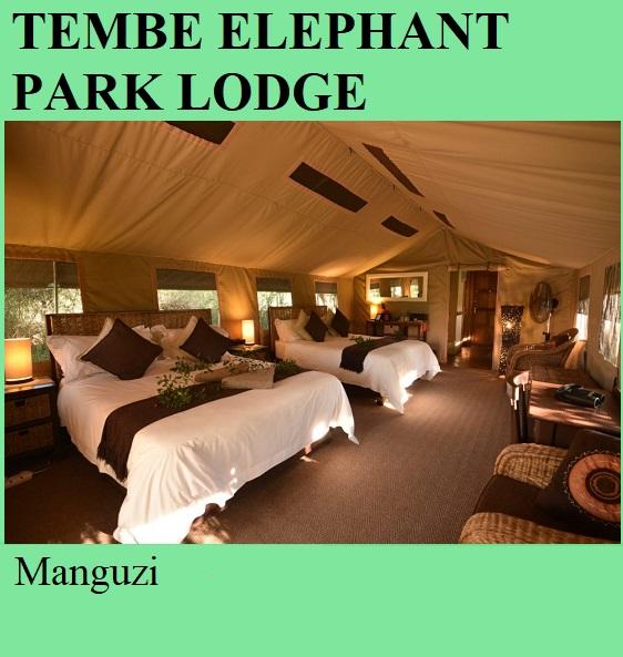 Tembe Elephant Park Lodge - Manguzi