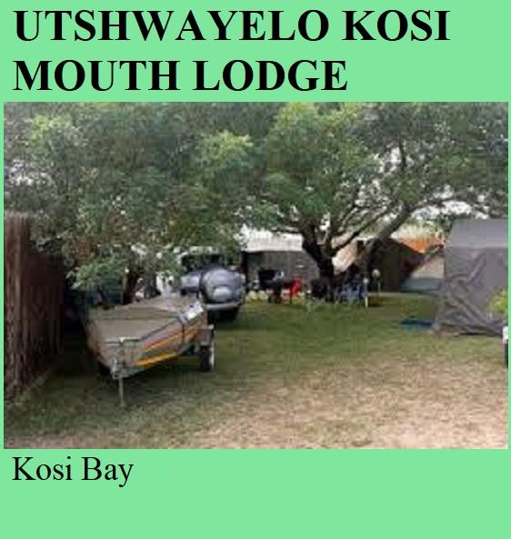 Utshwayelo Kosi Mouth Lodge - Kosi Bay