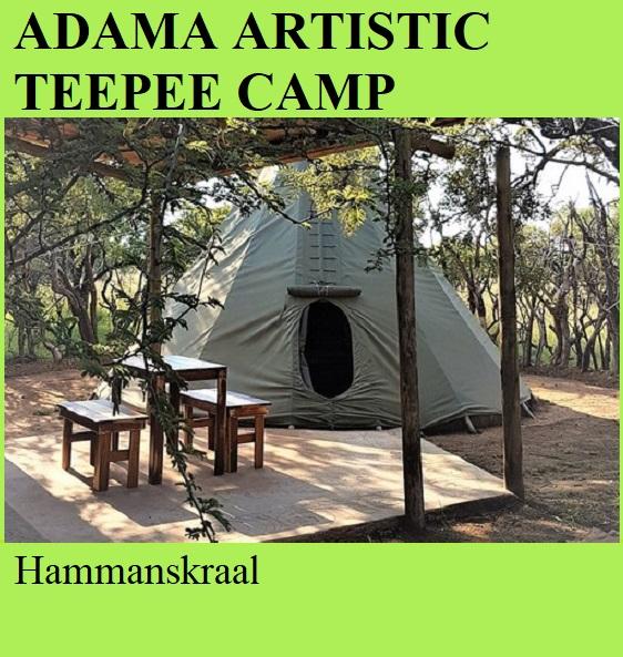 Adama Artistic Teepee Camp - Hammanskraal