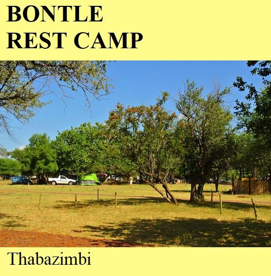 Bontle Rest Camp - Thabazimbi