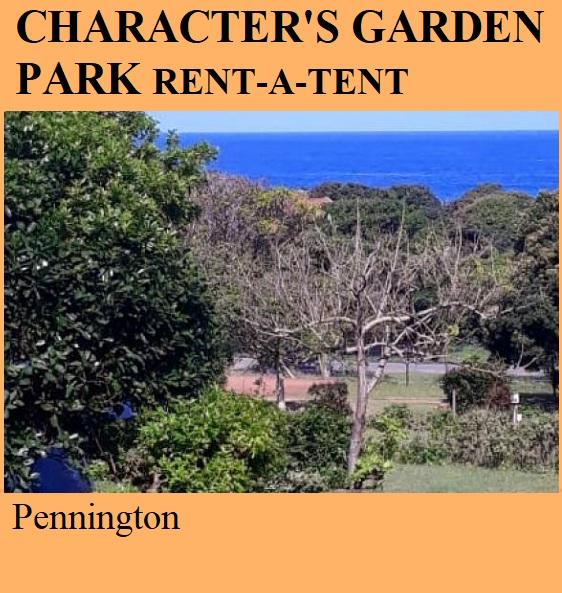 Character's Garden Park (Rent-a-Tent) - Pennington