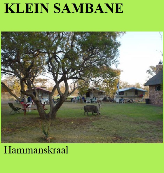 Klein Sambane - Hammanskraal