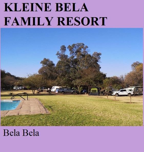Kleine Bela Family Resort - Bela Bela