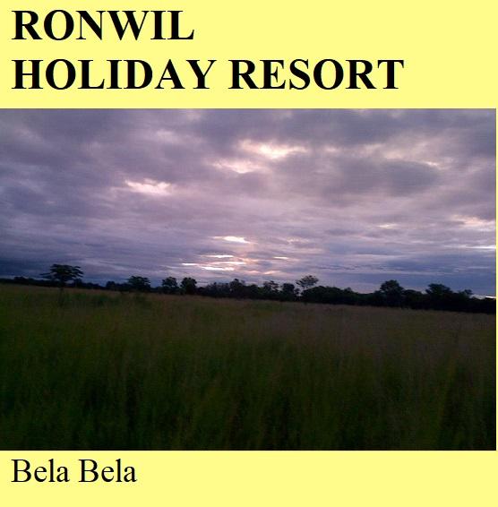 Ronwil Holiday Resort - Bela Bela