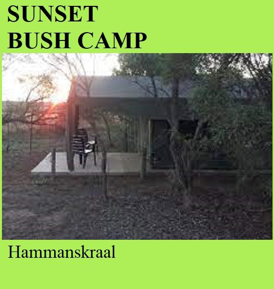 Sunset Bush Camp - Hammanskraal