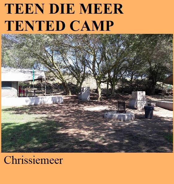 Teen die Meer Tented Camp - Chrissiemeer