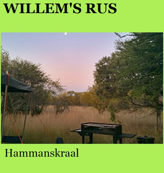 Willem's Rus - Hammanskraal